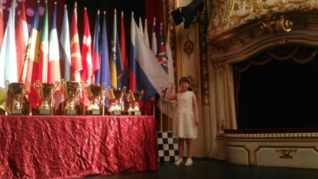 Анна Шухман с кубками